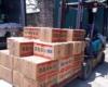 Đóng gói than xuất khẩu