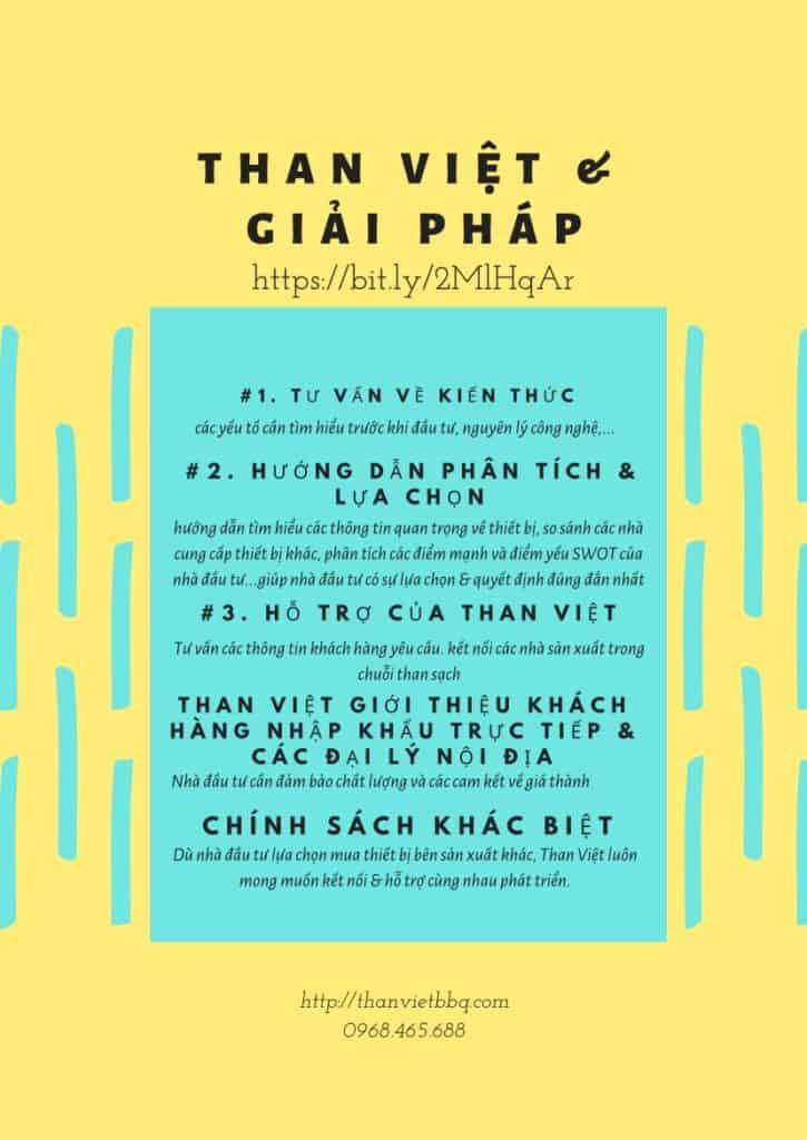 Than sạch không khói - giải pháp của Than Việt