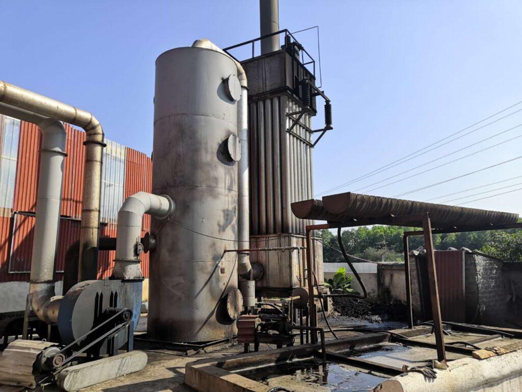 Hệ thống xử lý khói nhà máy than mùn cưa